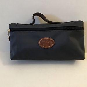 Longchamp Makeup Bag Dark Gray